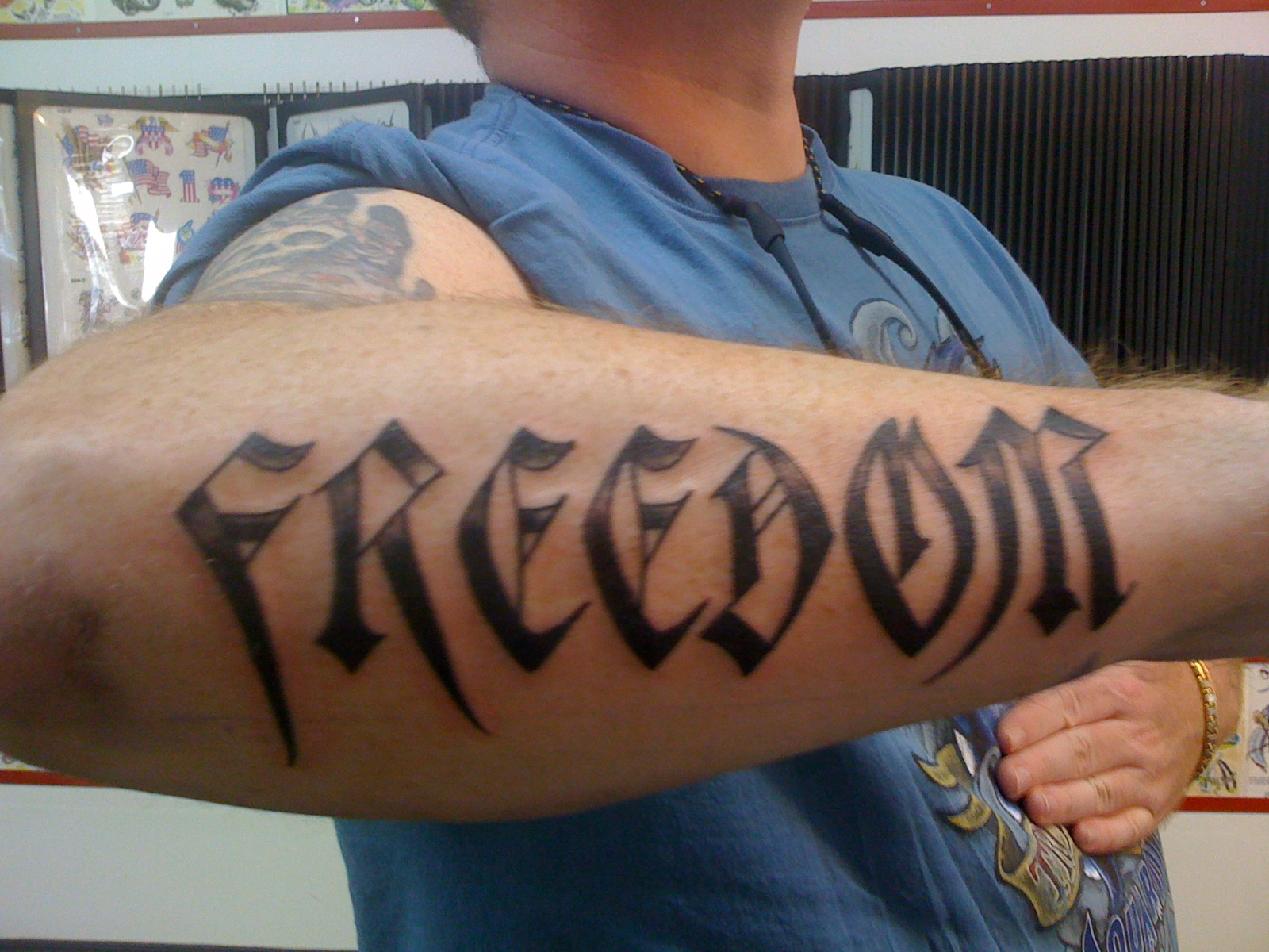 Ambigram tattoos designs ideas and meaning tattoos for you for Tattoos meaning freedom