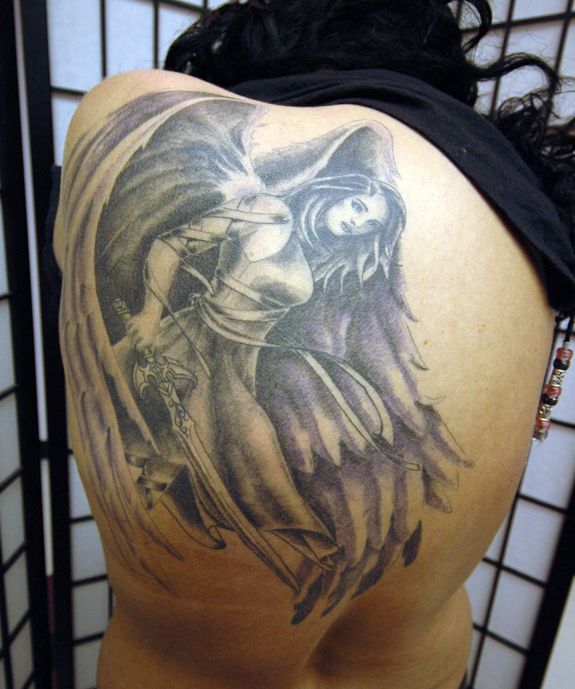 Tattoo Ideas Images: Angel Tattoos Designs, Ideas And Meaning