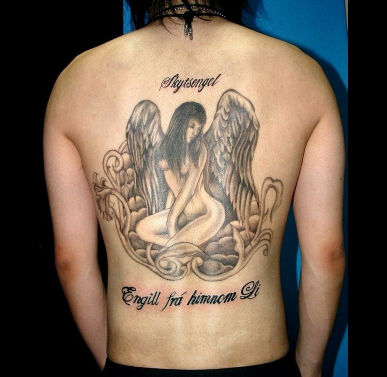 angel tattoo for girls - photo #25