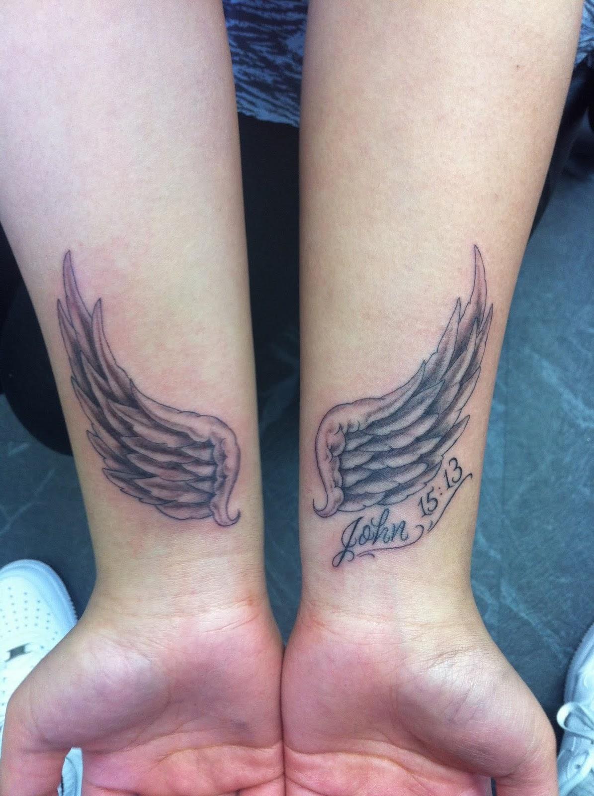 Angel Tattoo Designs Wrist Angel Wing Wrist Tattoos