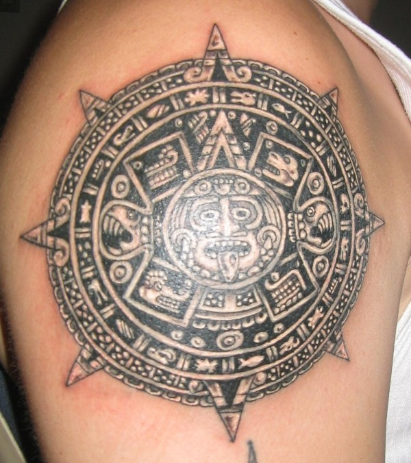 Calendar Art Meaning : Aztec tattoos designs ideas and meaning for you