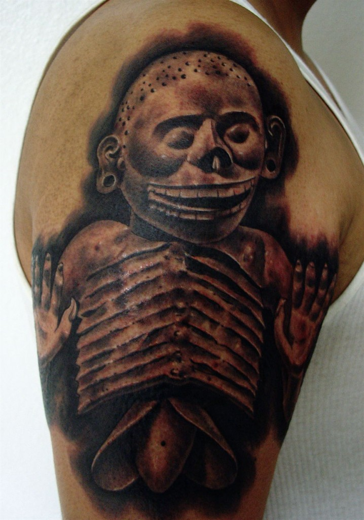Aztec tattoos designs ideas and meaning tattoos for you for Skull tattoos meaning