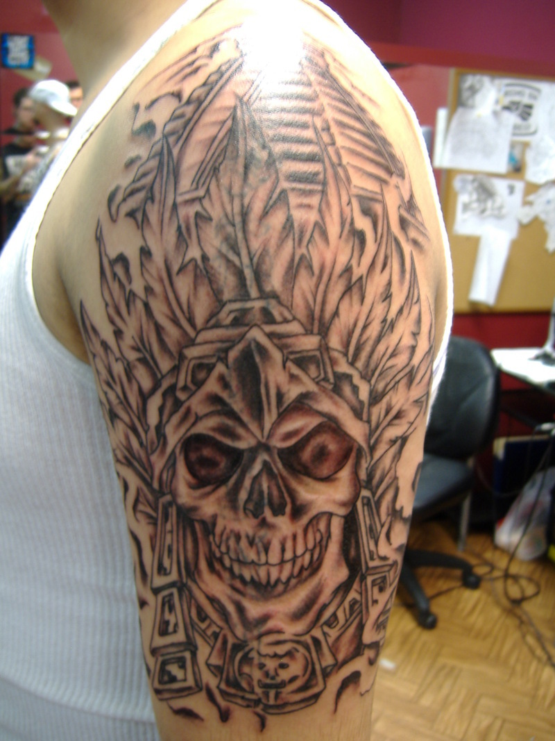 aztec tattoos designs  ideas and meaning