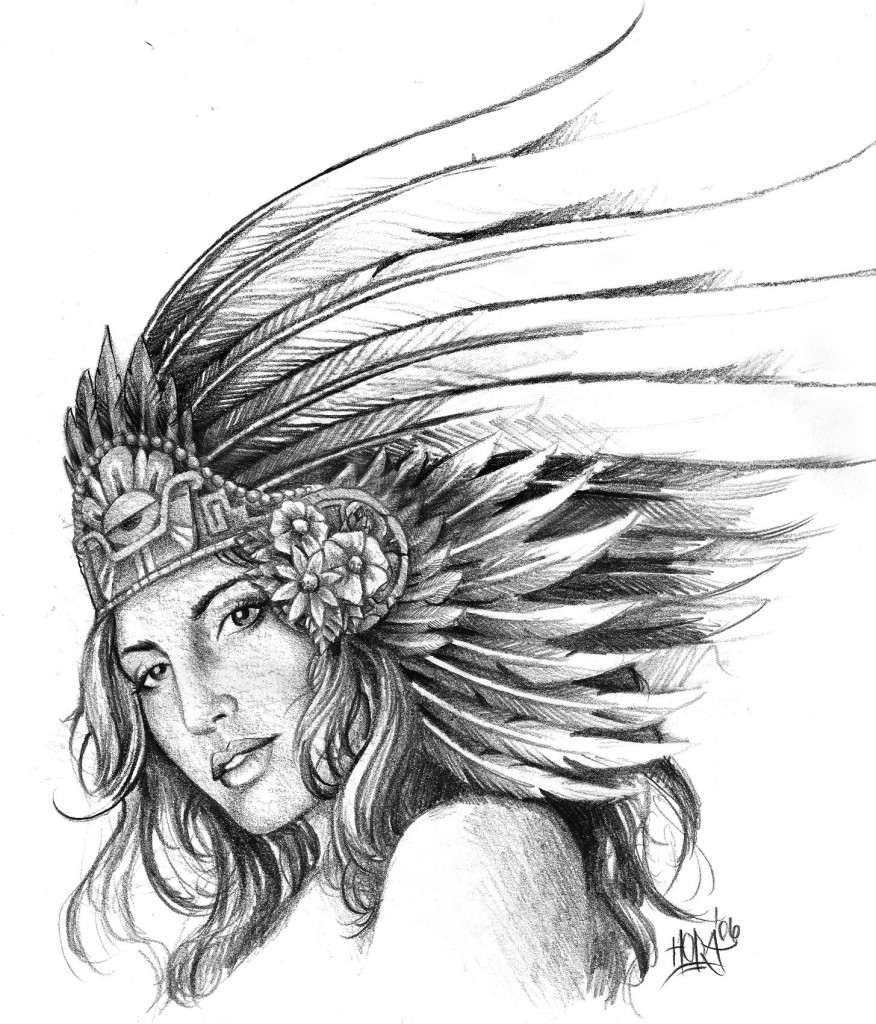 Aztec Tattoos Designs Ideas and
