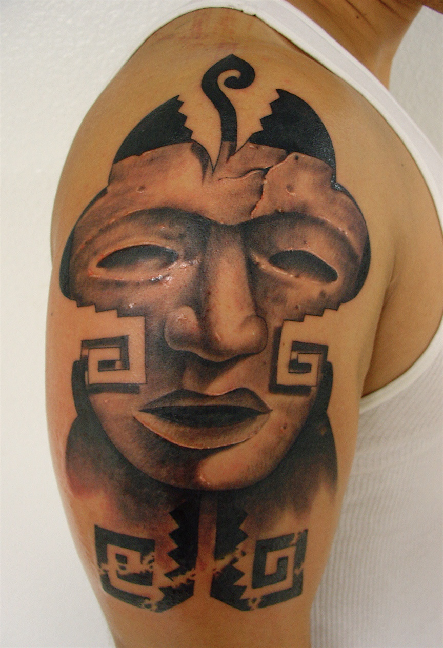 Aztec tattoos designs ideas and meaning for you