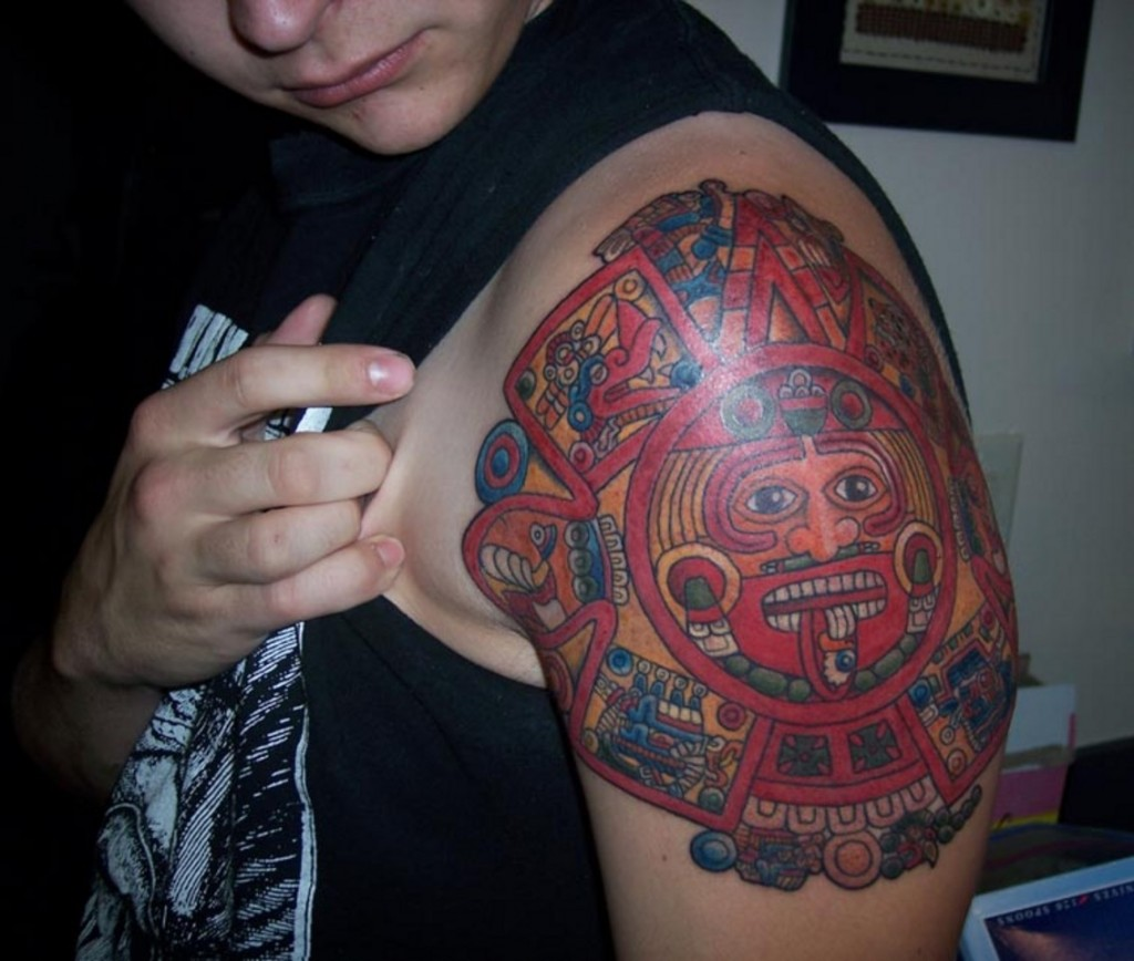 Aztec Tattoos Designs, Ideas And Meaning