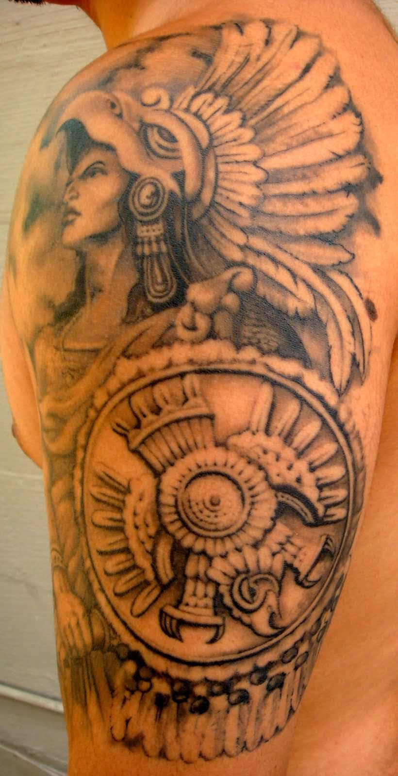 with tribal letters tattoos Meaning  Ideas Aztec You  Designs, Tattoos Tattoos and For