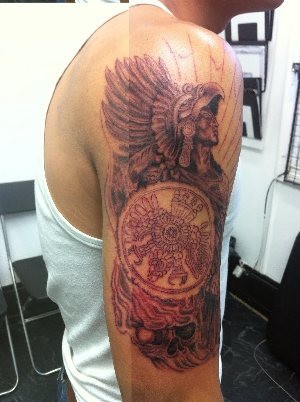 aztec tattoos designs ideas and meaning tattoos for you