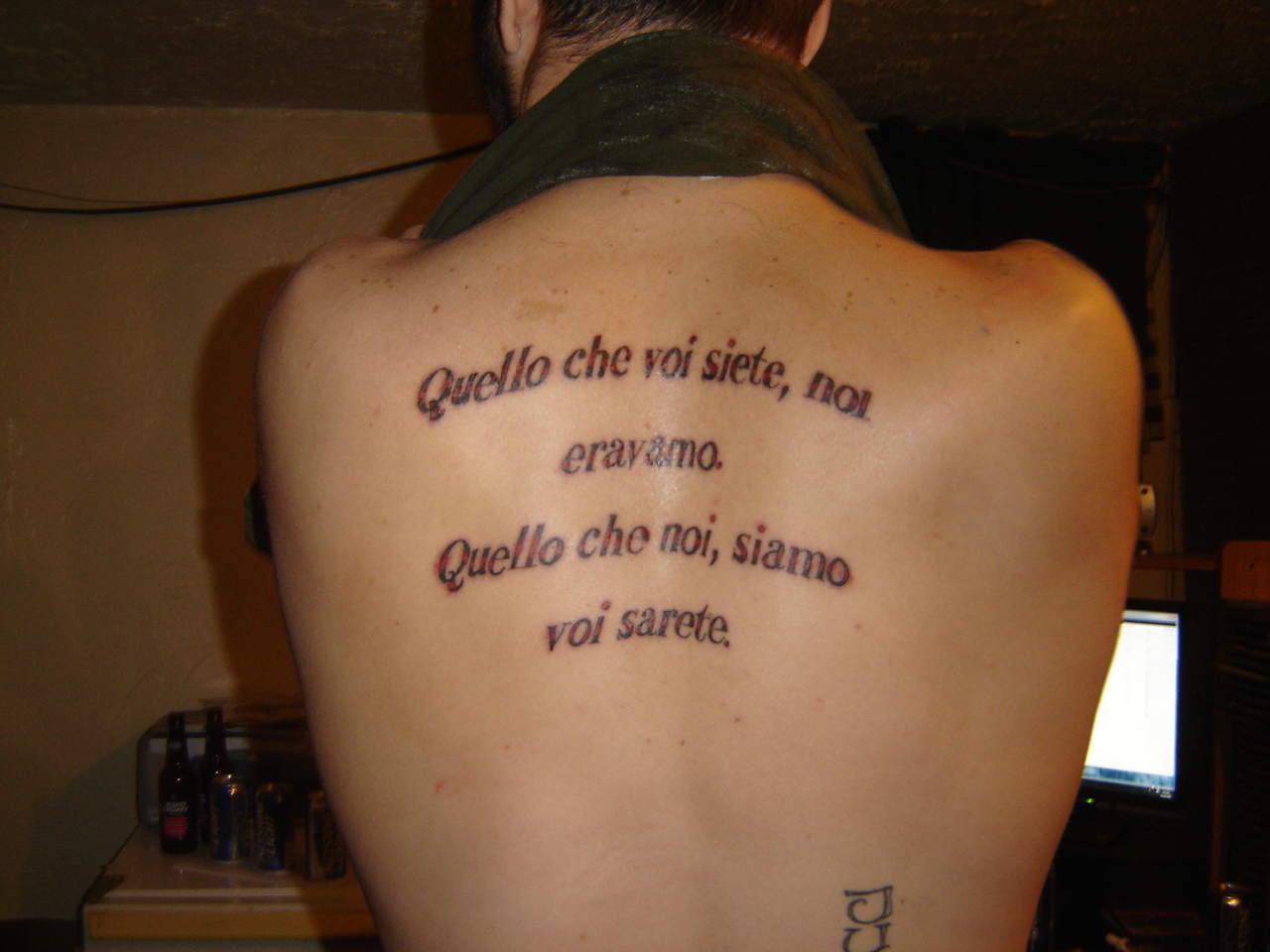 Quote tattoos designs ideas and meaning tattoos for you for Non ducor duco tattoos designs