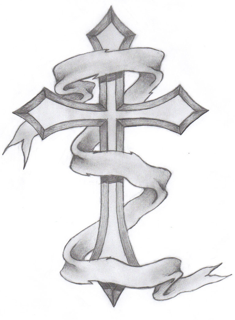 Cross tattoos designs ideas and meaning tattoos for you for Memory cross template
