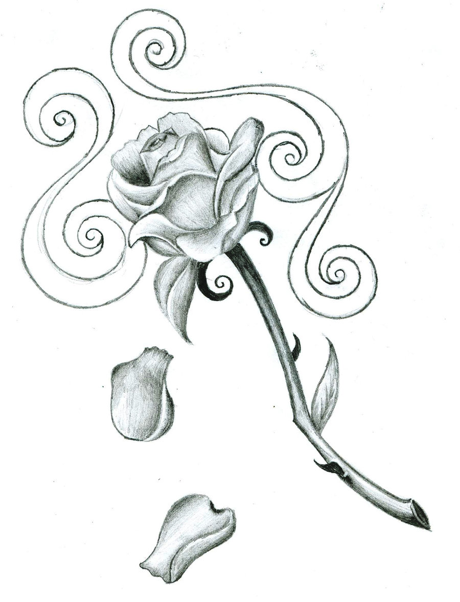 Rose tattoos designs ideas and meaning tattoos for you for Free tattoo design