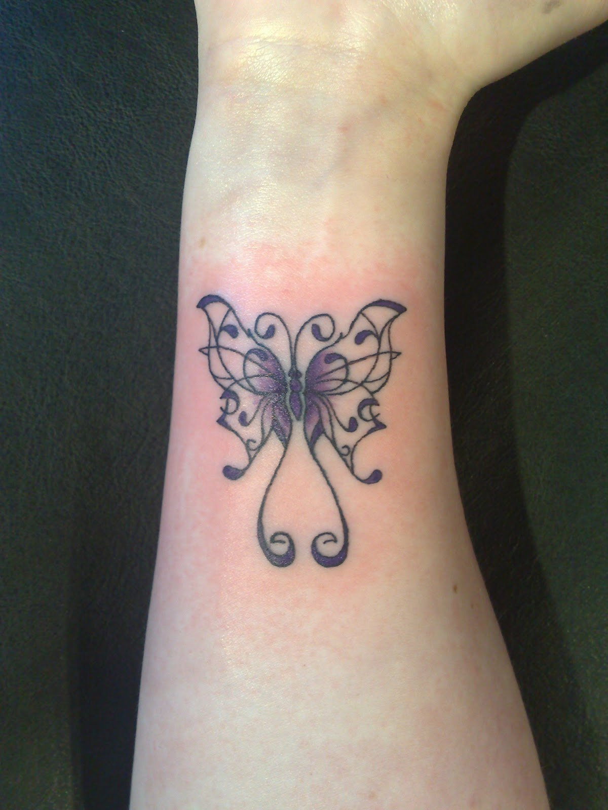 Butterfly tattoos designs ideas and meaning tattoos for you - Tatouage peace and love ...