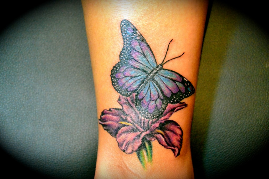 Butterfly wrist tattoo cover up z?rich
