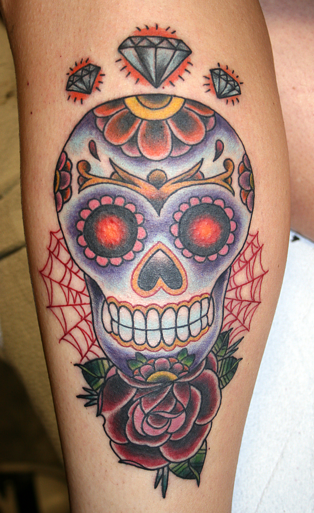 Designs For A Tarot Deck Celebrating: Skull Tattoos Designs, Ideas And Meaning