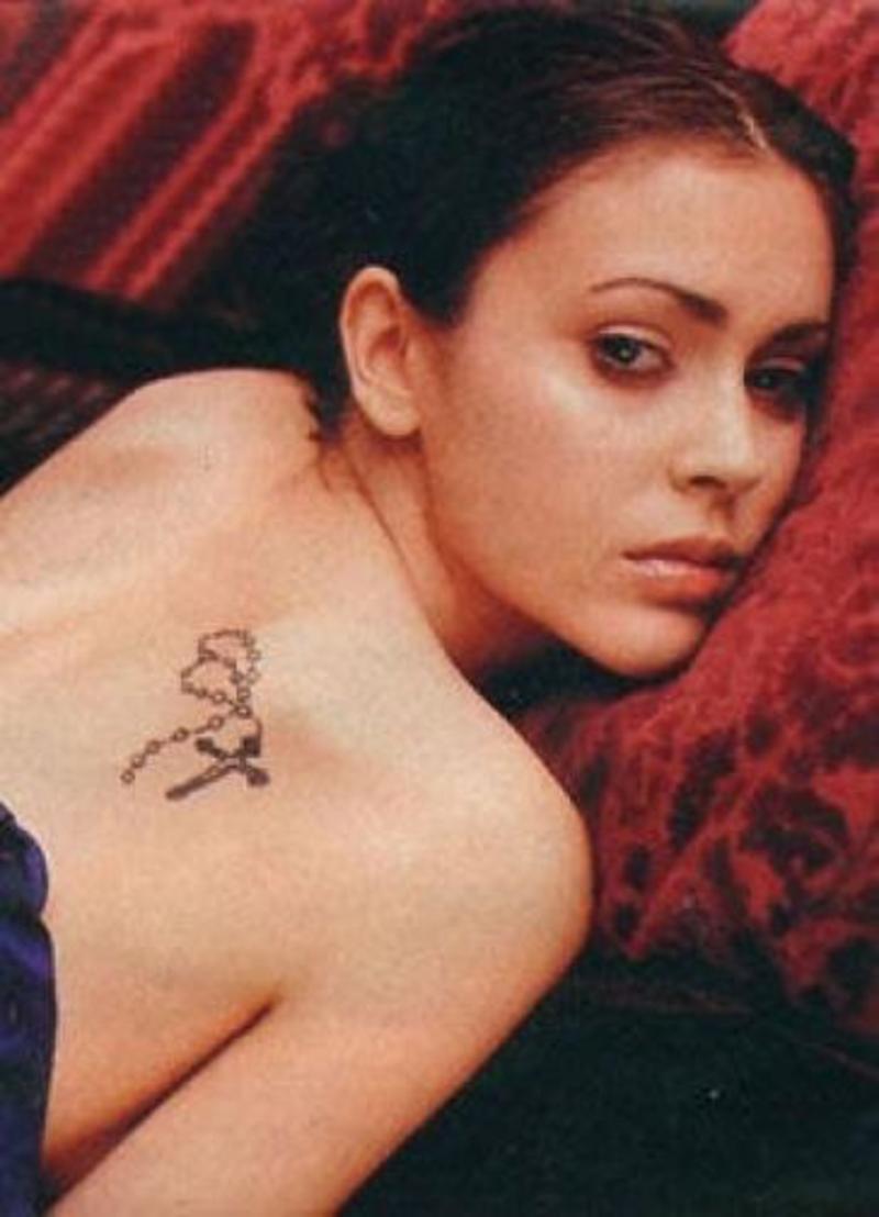 Small Religious Tattoo