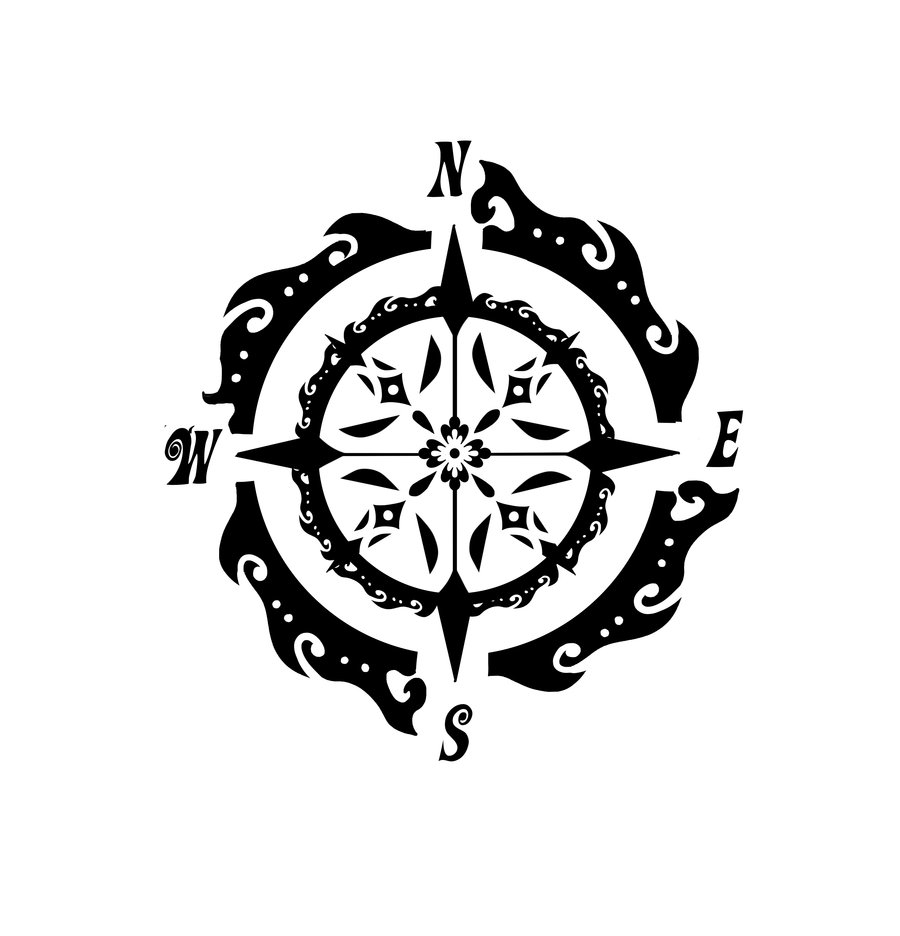 compass tattoos designs  ideas and meaning tattoos for you compass rose clip art images compass rose clip art black and white