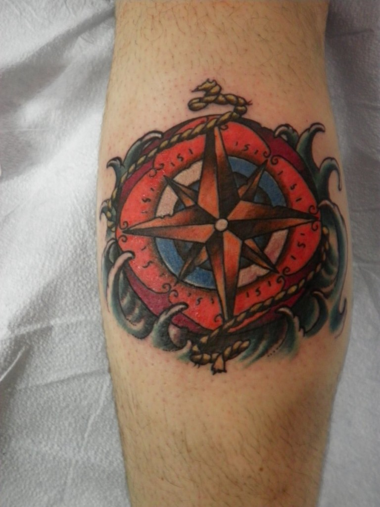 Compass tattoos designs ideas and meaning tattoos for you for Tattoos with symbolic meaning