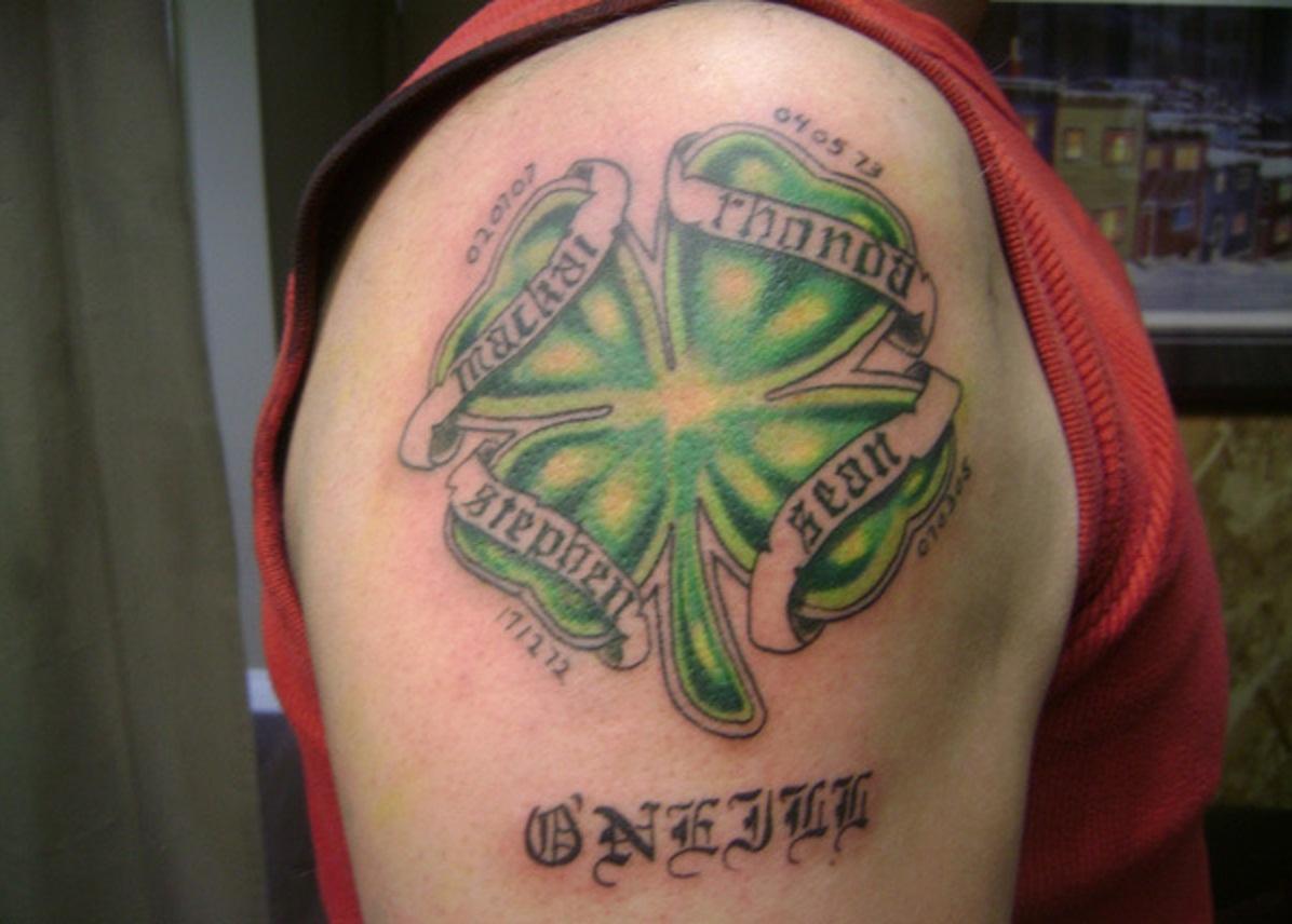Irish Wrist Tattoo Designs