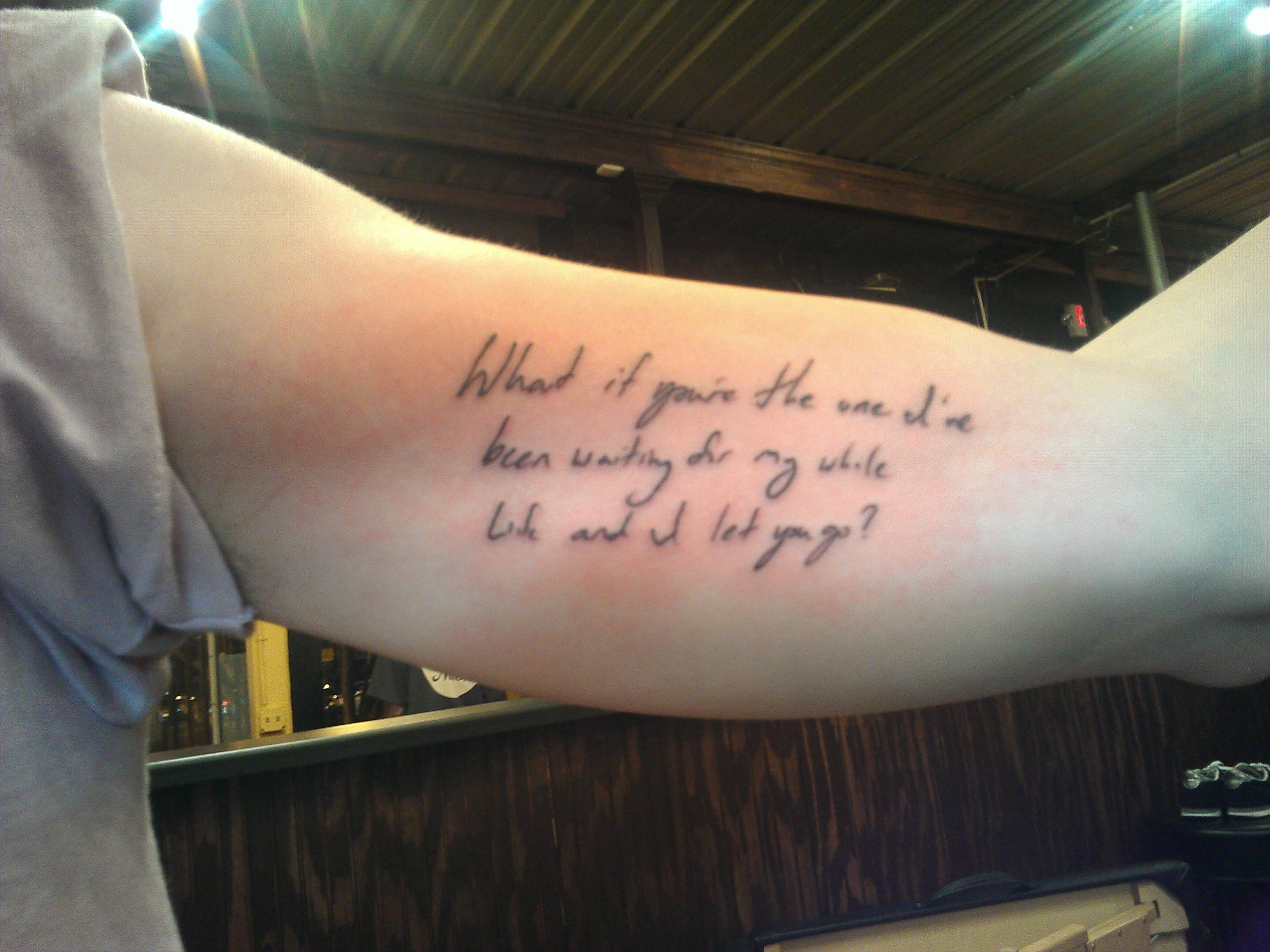Quote Tattoos Designs  Ideas and MeaningRunning Quote Tattoos