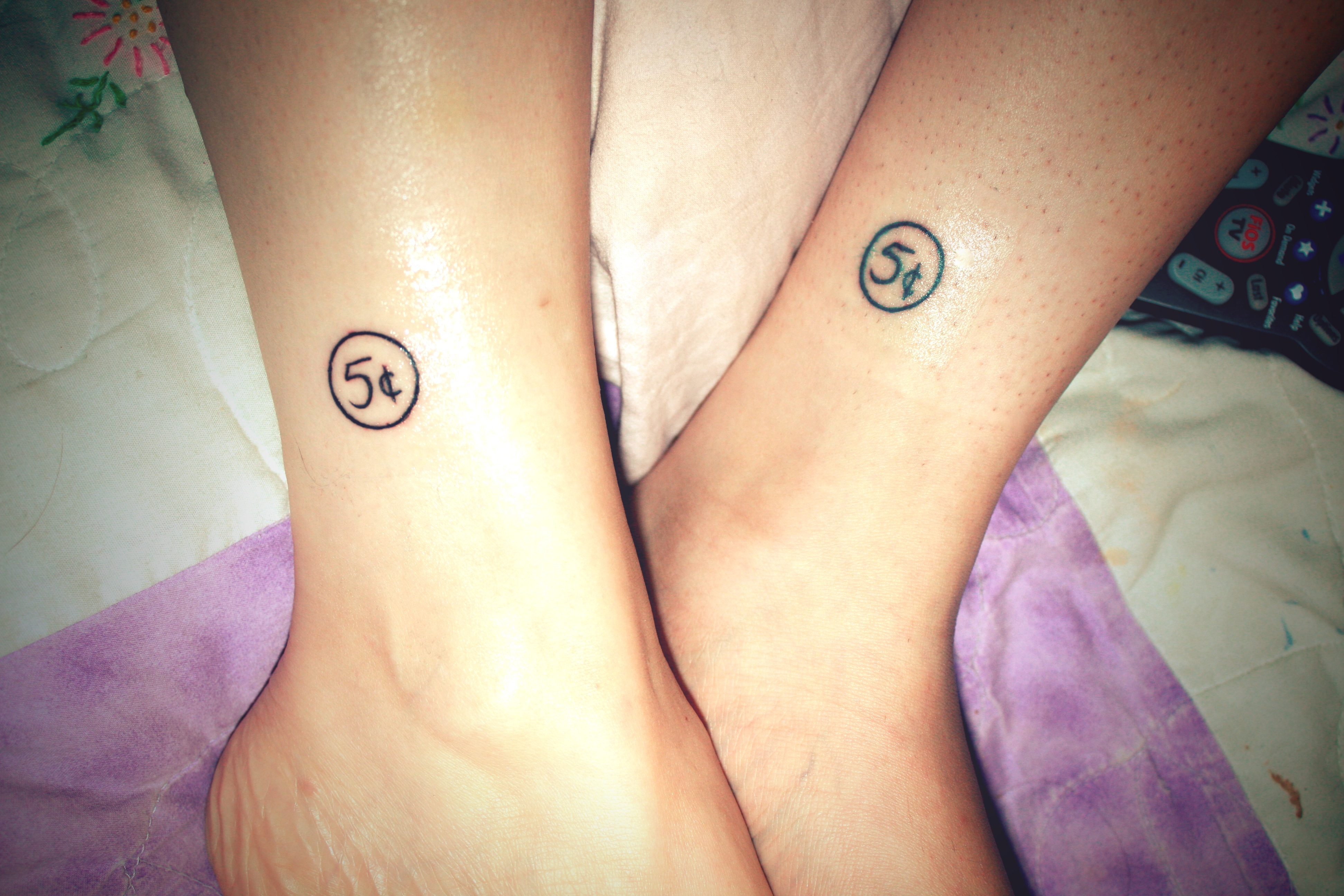 Matching Tattoo Designs For Married Couples