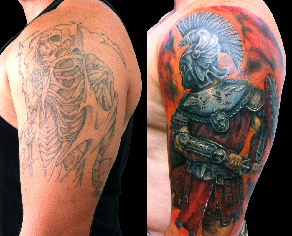 Cover Up For Men: Cover Up Tattoos Designs, Ideas And Meaning