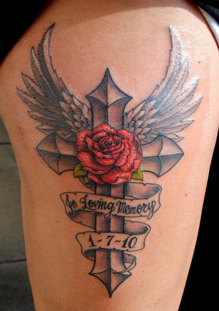 Tattoo Ideas Cross: Rose Tattoos Designs, Ideas And Meaning