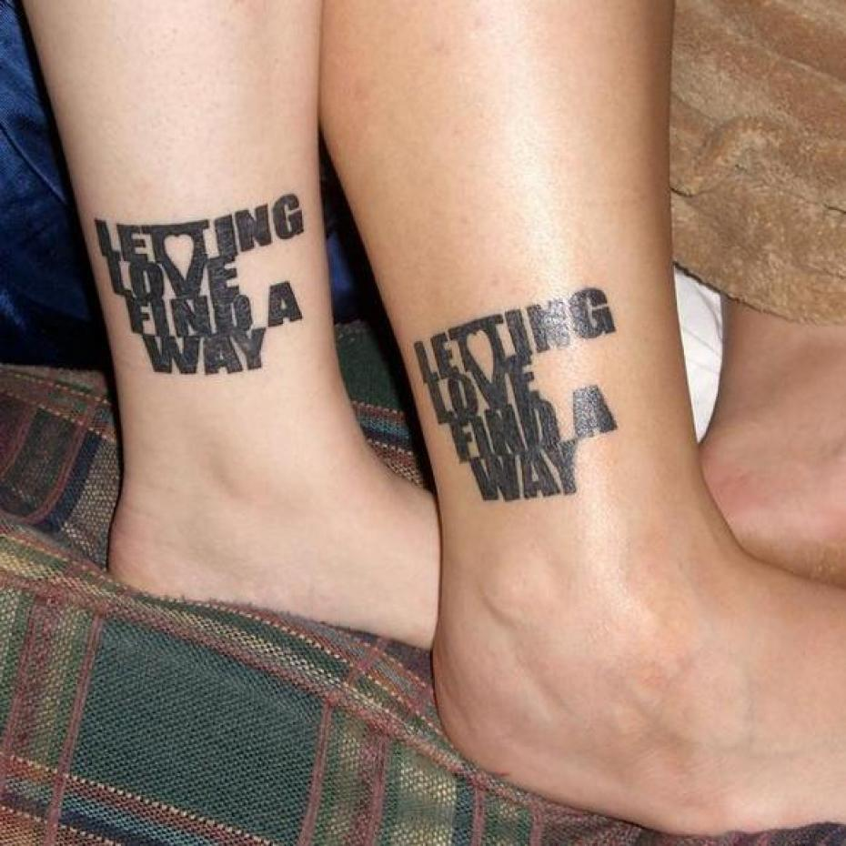 Couple tattoos designs ideas and meaning tattoos for you for Loser lover tattoo