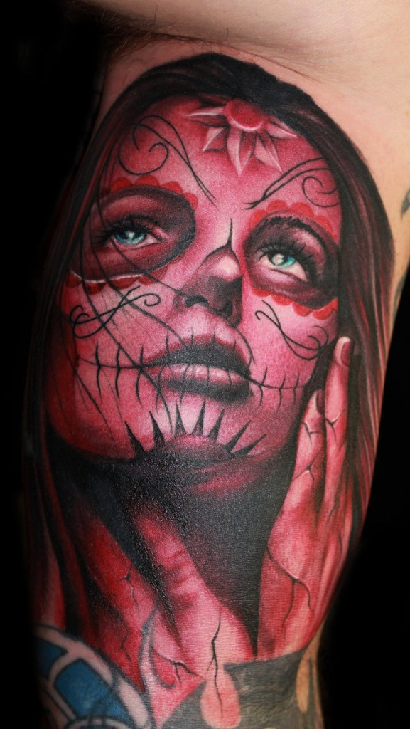 Day of The Dead Girl Tattoos