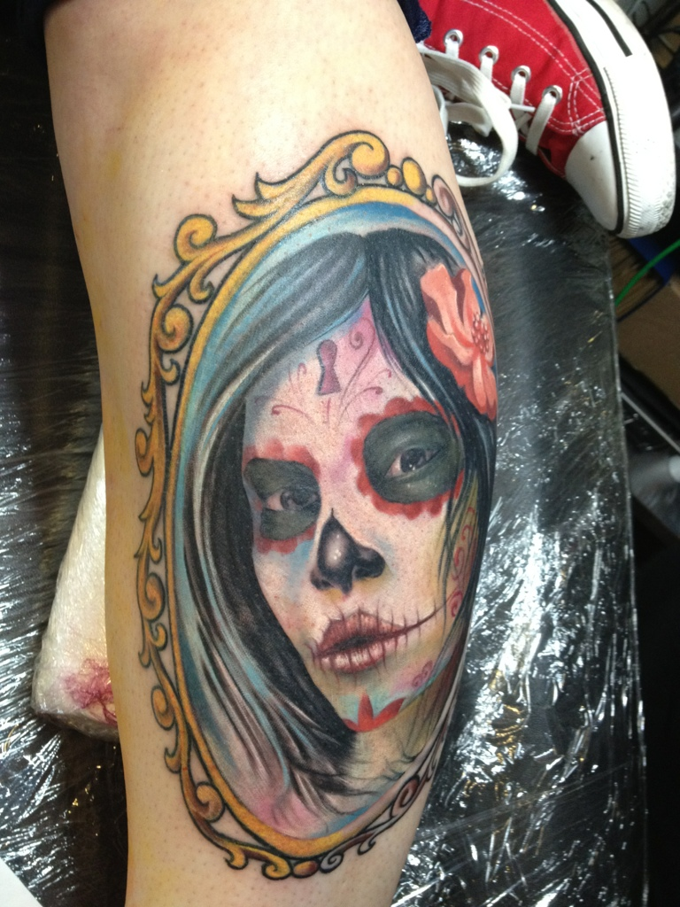 Day of The Dead Pictures Tattoos
