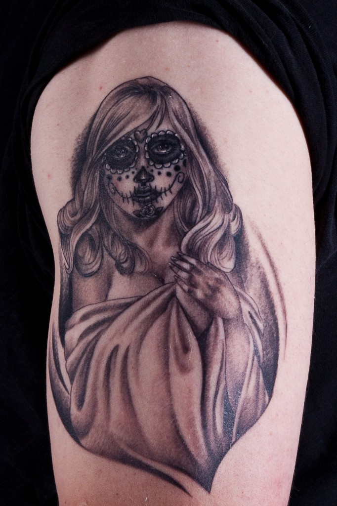 Day of The Dead Skull Tattoo Meaning