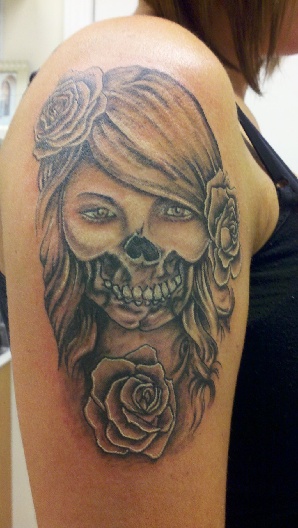 day of the dead tattoos designs ideas and meaning tattoos for you. Black Bedroom Furniture Sets. Home Design Ideas