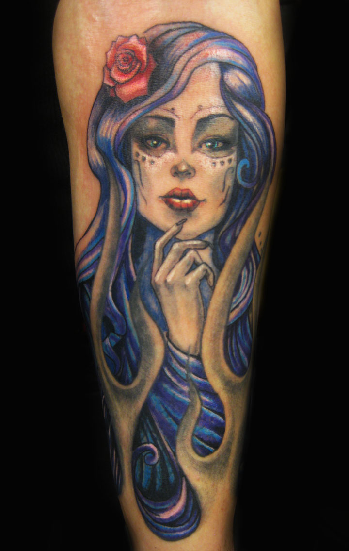 Day Of The Dead Tattoos Designs Ideas And Meaning Tattoos For You