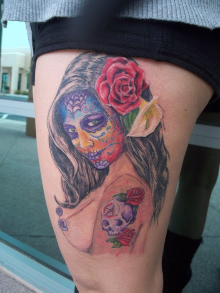 Day of The Dead Tattoos Designs