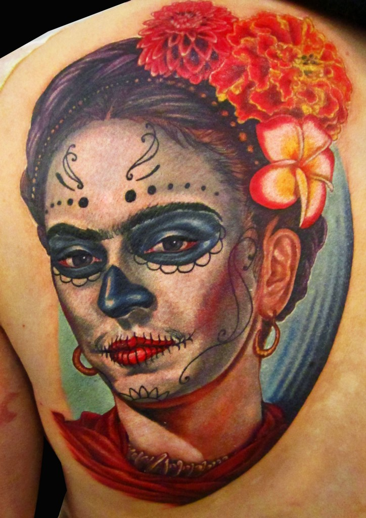 Day of The Dead Tattoos Meaning