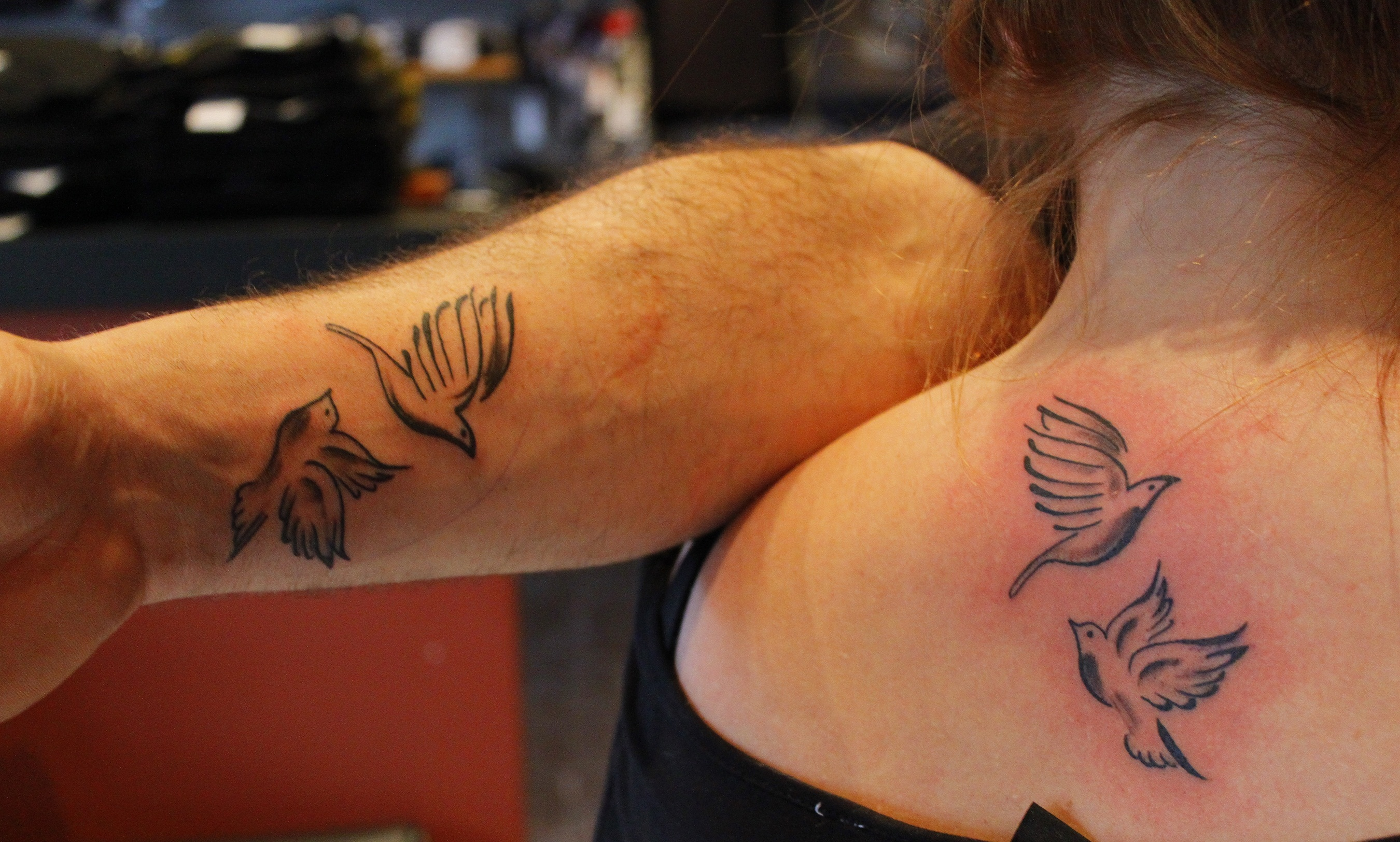 Turtle dove tattoo - photo#19