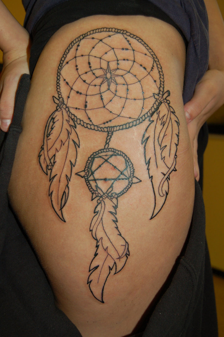 Dreamcatcher Tattoos Designs, Ideas And Meaning