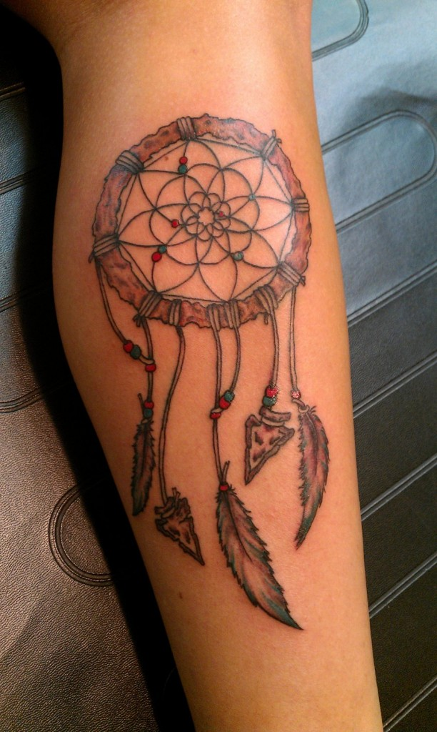 dreamcatcher tattoos designs ideas and meaning tattoos for you. Black Bedroom Furniture Sets. Home Design Ideas