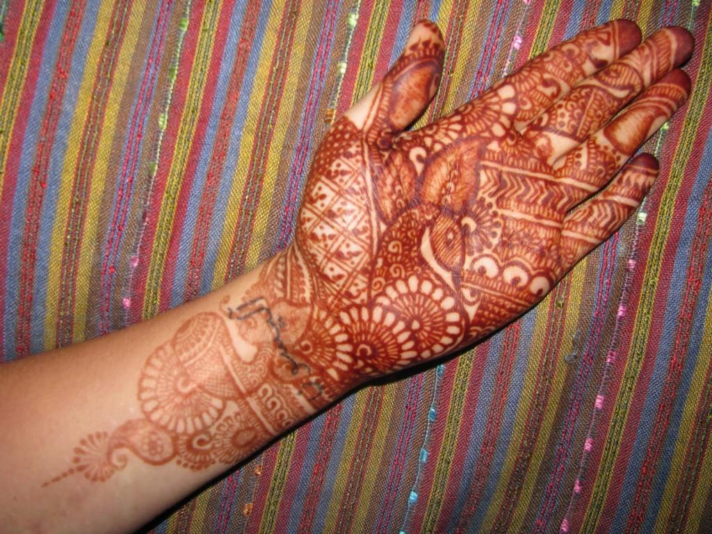 Easy Henna Tattoo Designs