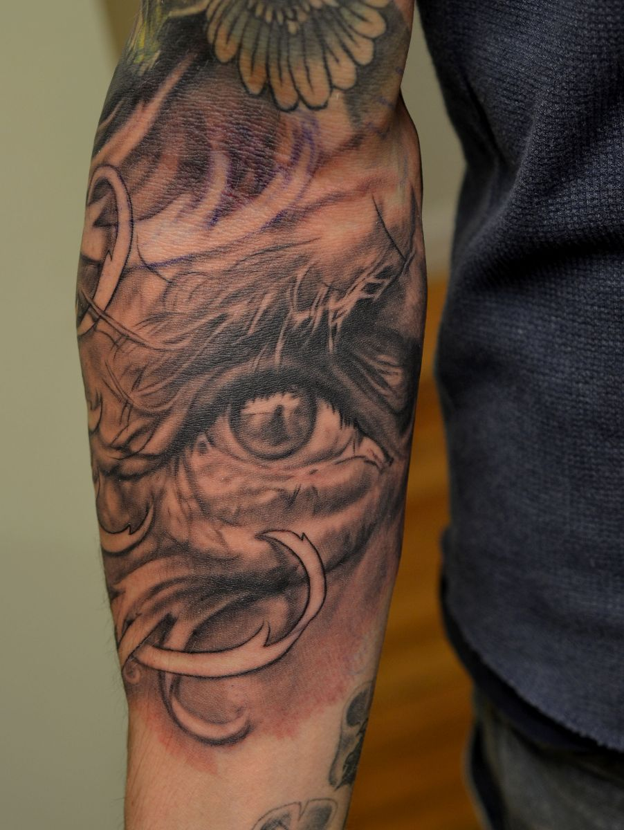 tattoo eye designs tattoos arm sleeve eyes elbow tatto meaning neck meanings 3d right related sleeves desiznworld seeing attractive nice