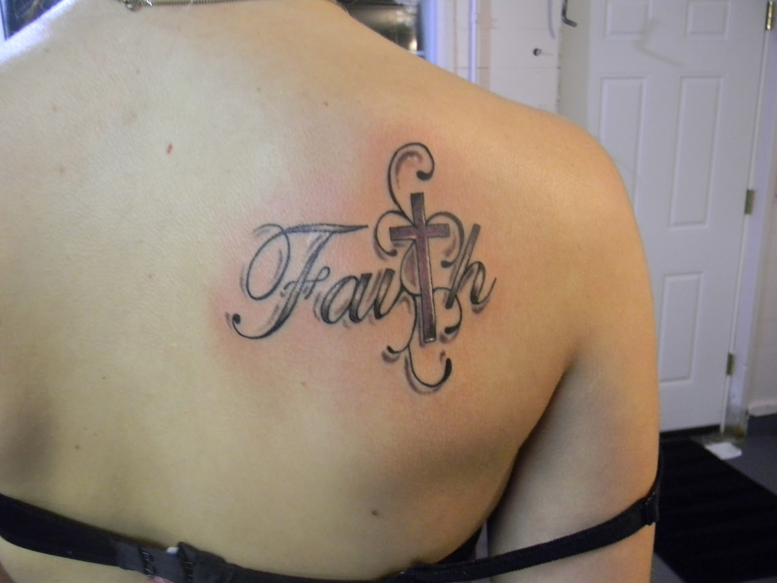 Faith Tattoos For Girl...
