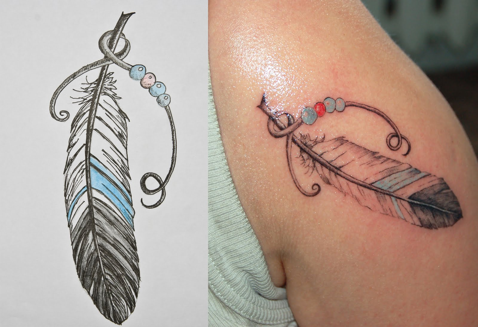 Tattoo Designs: Feather Tattoos Designs, Ideas And Meaning