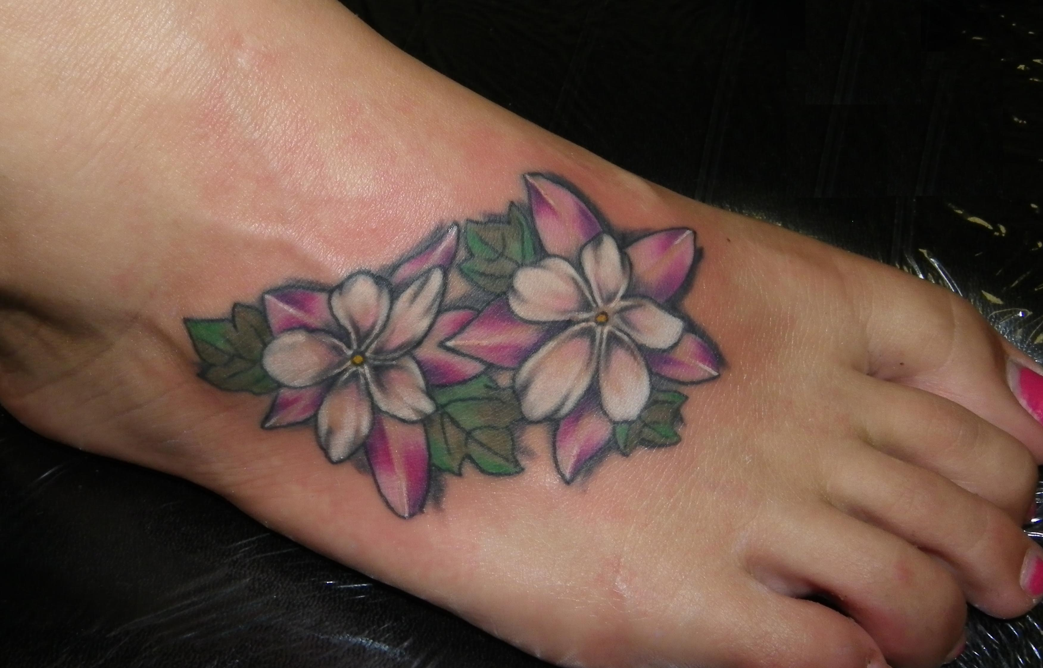 Flower Ankle Tattoo: Flower Tattoos Designs, Ideas And Meaning