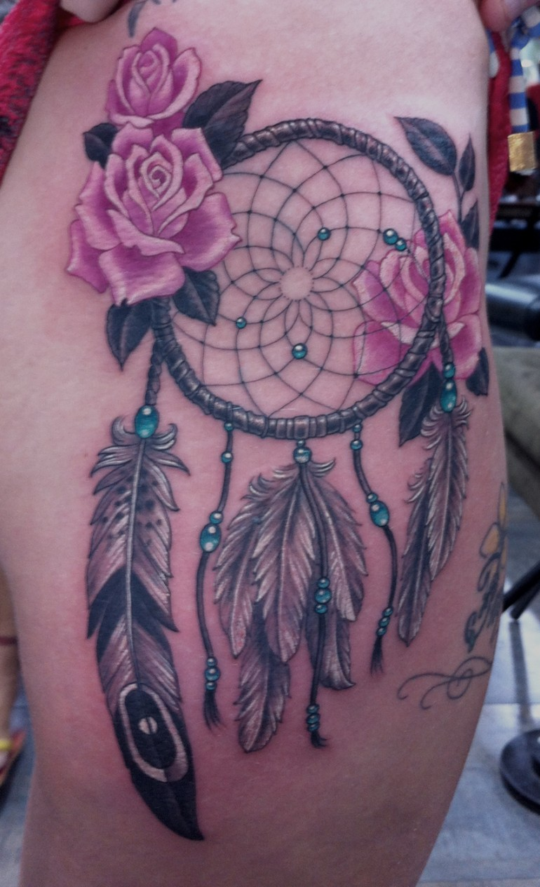 Dreamcatcher tattoos designs ideas and meaning tattoos for Free tattoo design