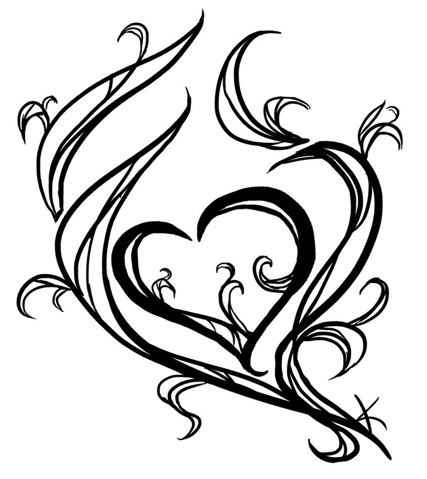 Tattoo Drawing Easy: Heart Tattoos Designs, Ideas And Meaning