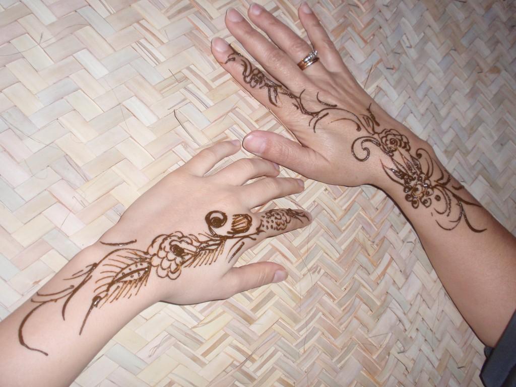 Henna Style Tattoos