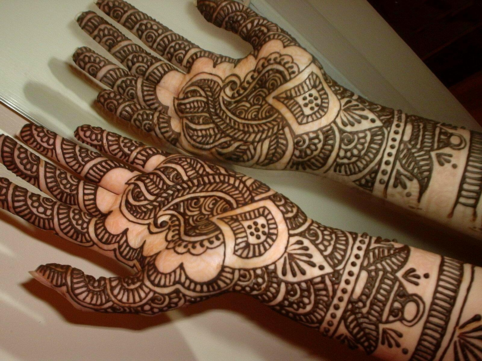 Easy Henna Tattoos Hand  Viewing Gallery
