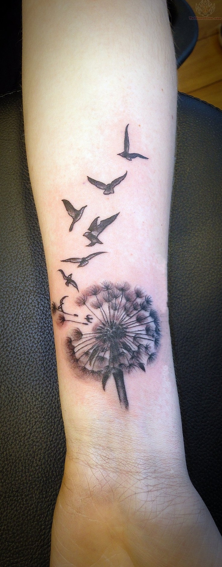 Dandelion tattoos designs ideas and meaning tattoos for you for Tattoos in wrist