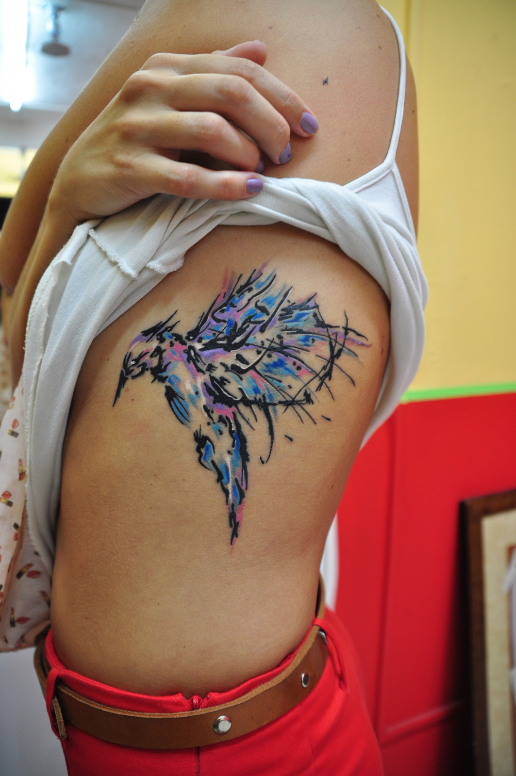 Hummingbird Tattoos Designs Ideas And Meaning