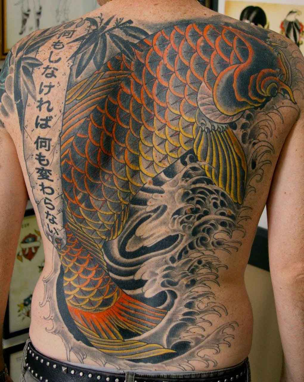 Japanese tattoos designs ideas and meaning tattoos for you for Japanese koi design