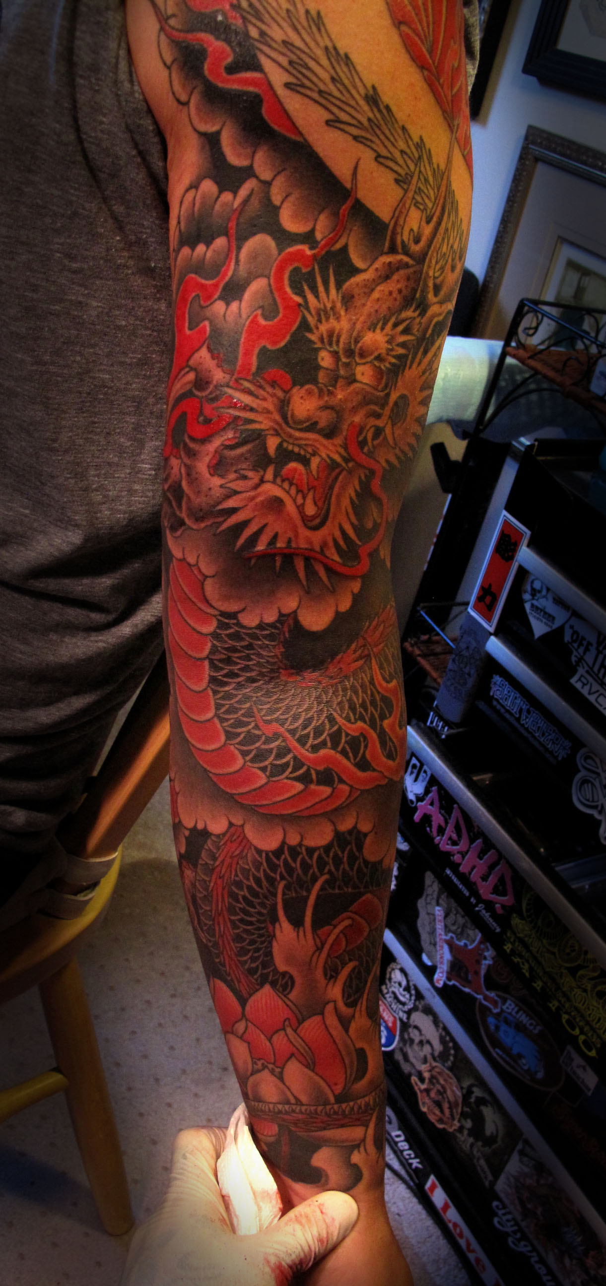 Japanese Tattoos Designs, Ideas and Meaning | Tattoos For You Uberhaxornova Tattoo Sleeve